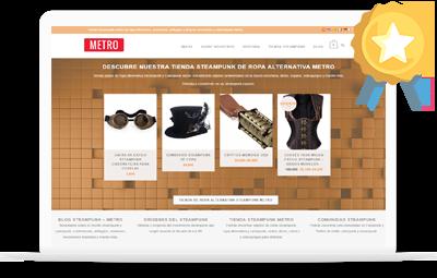 Caso de éxito diseño de tienda online diseño web en Valencia Tu Web Startup