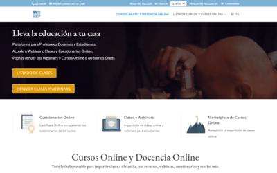 Nuevo Caso de Éxito: Plataforma de Docencia Online
