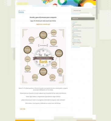 Diseño Web para Startup Tic Tac Bank